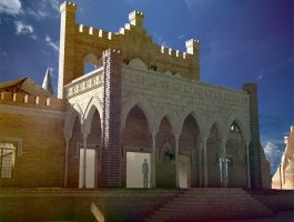 Reconstruction design project of Popov's Castle into summer open-air stage
